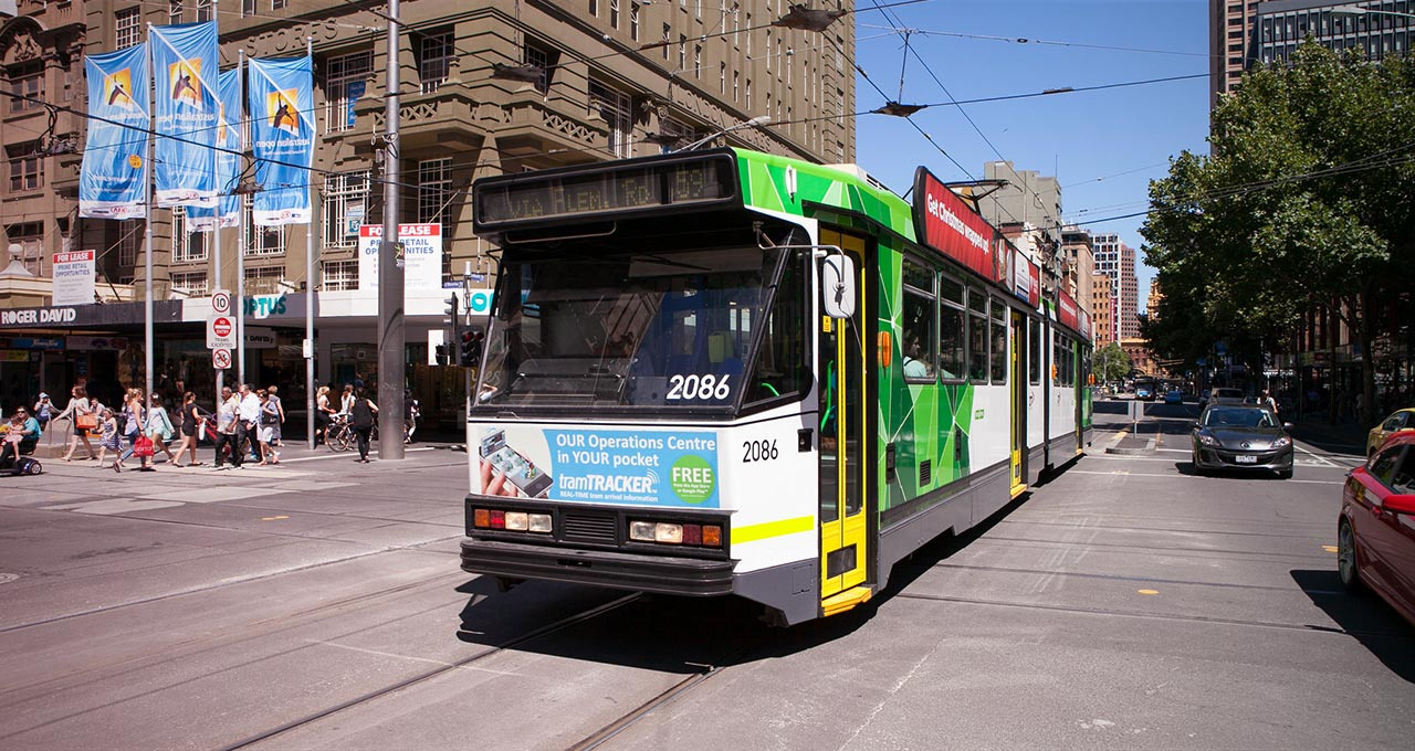 Yarra Trams Vehicle Passenger Information System. Cica Group Projects.